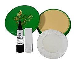 ADS Green Tea Compact Powder Free Kajal