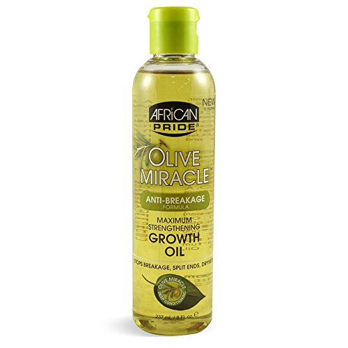 African Pride Huile de Croissance Olive Miracle 237 ml