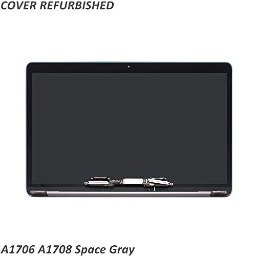FTDLCD® 13.3 Zoll LED LCD Screen Komplett Display Bildschirm für MacBook Pro Retina A1708 EMC 2978 3164 (Space Gray) -