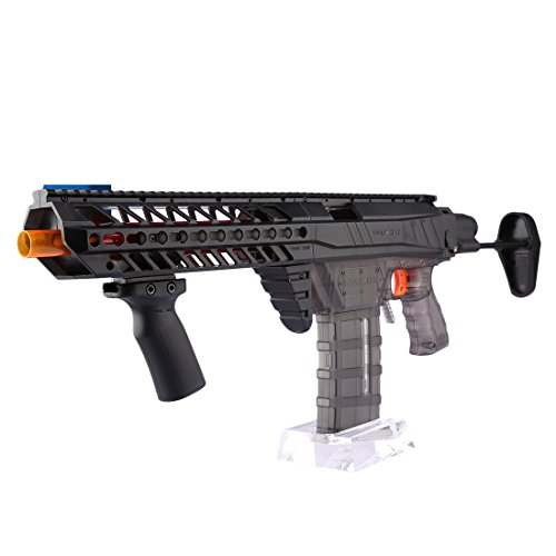 Toys & Hobbies Worker 5cm Nylon Grooved Top Rail Mount Kit For Nerf With Track Toy Gun Accessories Black Sufficient Supply