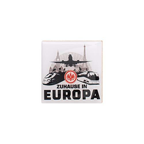 Eintracht Frankfurt Pin Zuhause in Europa Button, Anstecker Logo SGE - Plus Lesezeichen I Love Frankfurt