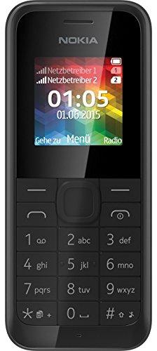 Microsoft Nokia 105 DUAL SIM schwarz RM-1133 2000 Radio