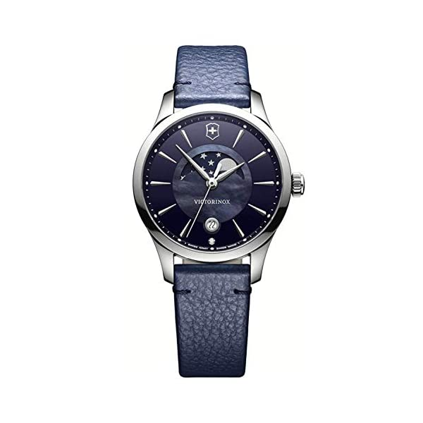 Victorinox Reloj Analogico para Mujer de Cuarzo con Correa en Cuero 241794