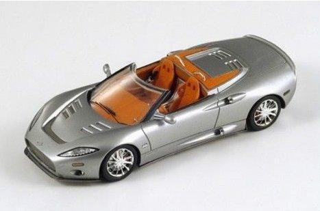 spyker-c8-aileron-spyder-2010-silver-143-spark-model-auto-stradali-modello-modellino-die-cast