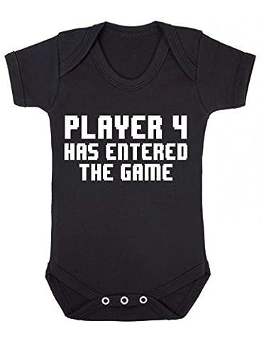 Bullshirt Baby Jungen (0-24 Monate) Body schwarz schwarz 3-6 Monate