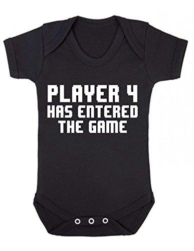 bullshirts-player-4-has-entered-the-game-short-sleeve-babygrow-0-3-months-black