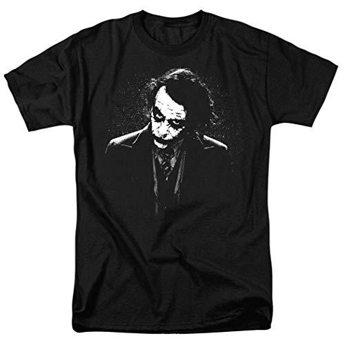 Vikkk The Dark Knight Heath Ledger Dark Joker Camisetas y Pegatinas, 3XL