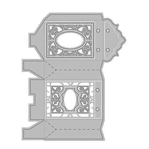 Tonic Studios - Set di 9 confezioni regalo a forma di lanterna in cartoncino fustellato, mod. Indulgence
