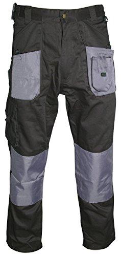 Blackrock - 7640244 - pantaloni normali uomini operaio - nero / grigio, da 44 pollici