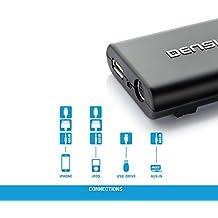 Dension GW33BM4 - Cable adaptador para iPhone 3G y iPod para BMW 300 (entrada auxiliar, USB)
