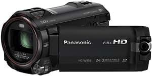 Panasonic HC-W858EG-K Camcorder (12,7 Megapixel, 7,6 cm (3 Zoll) LCD-Display, Full-HD, SD/SDHC/SDXC-Kartenslot) schwarz