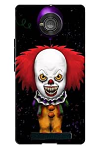 Yu Yuphoria Horror print hard high quality mobile Back Cover Case best colour and best fitting cover and this is very popular mobile cover (NO-1 Seller in Amazon)