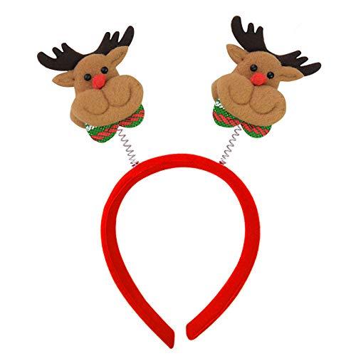 CHCUAN Weihnachten Cartoon Stirnband Headwear Haarbänder für Erwachsene Kinder Party Urlaub Dekoration, Weihnachtsdekoration, ()