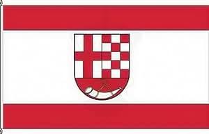Königsbanner Autoflagge Altstrimmig - 30 x 45cm - Flagge und Fahne