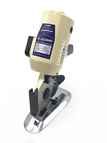 cgoldenwall yj-110 Elektrische Octagon Tuch Schneidemaschine Tragbare elektrische Tuch Schere Messer Scheren Stoff Cutter Kreissägeblatt Durchmesser 110mm 110 V/220 V