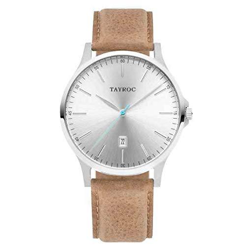 Tayroc Classic Brown Silver horloge TXM100