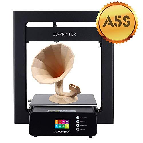 JGAURORA A5S 3D Drucker Bunten Touchscreen Aktualisierter Desktop 3D Drucker 305 * 305 * 320mm