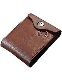 F9Q Man's wallet - Cuir Bifold ID cartes titulaire poche sac Slim porte-monnaie homme portefeuille