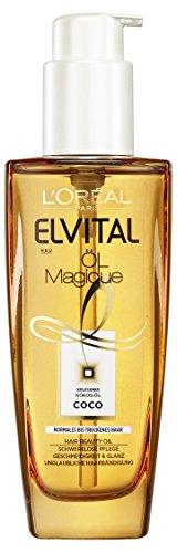 elvital coco L'Oréal Paris Elvital Öl Magique Kokos-Öl, 2er Pack (2 x 100 ml)