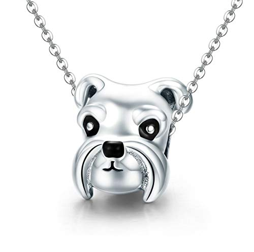 charmée Luxembourg perro Charm Bead 925plata de ley para pulsera