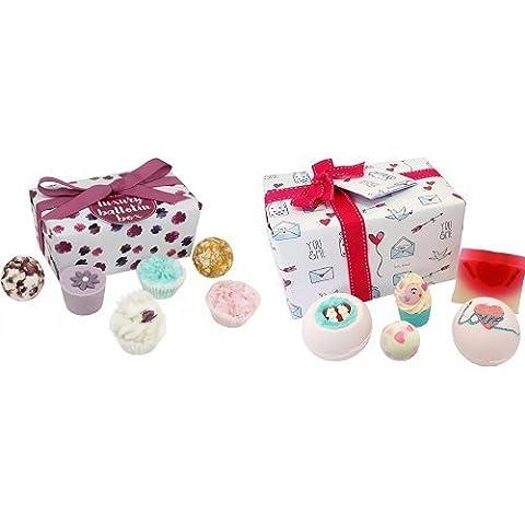 Bomb Cosmetics Luxury Ballotin Assortment Bath Gift Set and Bomb