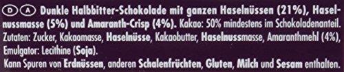 Ritter Sport Dunkle Voll-Nuss Amaranth, 100 g - 3