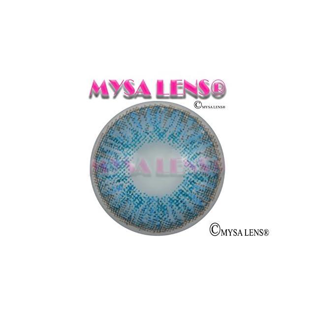 2f4ee997dad817 ... MYSA LENS® Lentilles De Contact De Couleur Fantaisie Bleu Brillant    Brilliant Blue S3-