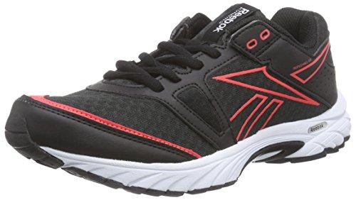 Reebok Triplehall 4,0 Scarpe da corsa, Donna, Multicolore (Black/Red), 38