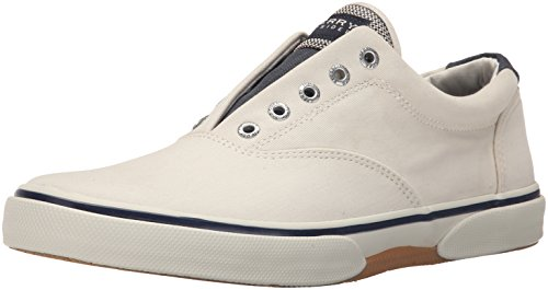 Sperry Top-Sider Mens Halyard Casual Lace Up Shoes Ecru