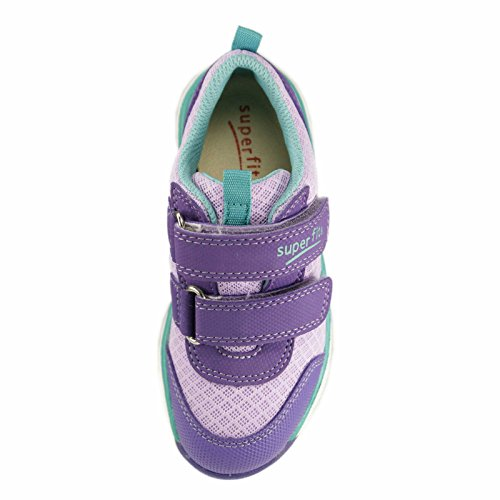 superfit Kinder Klettschuh Lumis Mini 4-00061-77 lila kombi Pink
