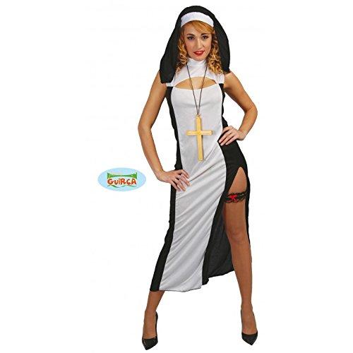 Disfraz de monja sexy - Standard (Monja Kostüm)