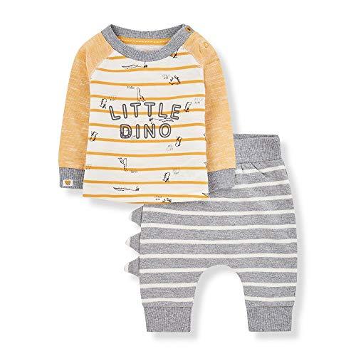 Mothercare NB Ad Top and Jog 2pcs Set Chándal, ((Dark Multi 195), 3-6 Months (Size:68) para Bebés