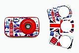 Teknofun Fotoapparat Kamera Girly, Personalisierbar Lila
