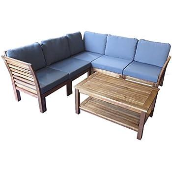 Gartenlounge aus holz  Amazon.de: Loungemöbel Holz OUTLIV. Bogota Loungemöbel Outdoor 6 ...