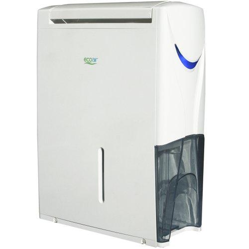 41gDnKFaLUL. SS500  - EcoAir Hybrid Dehumidifier/Air Purifier, 20 L - White - Dehumidify and Air Purify, Castor Design