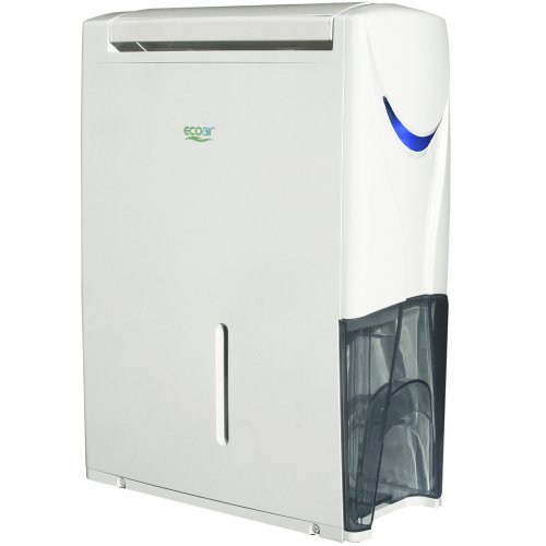 EcoAir Hybrid Dehumidifier/Air Purifier, 20 L - White