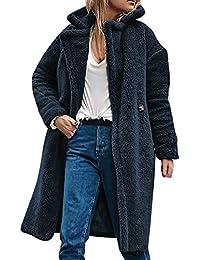 CASPAR Damen Winter Woll Mantel Wollmantel Wintermantel Winterjacke Lang Warm