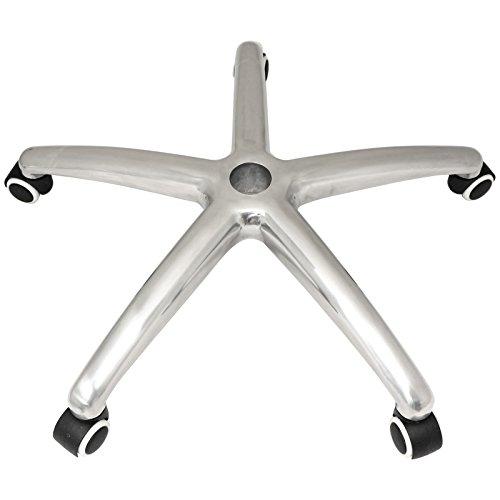Hartleys Base in Alluminio per Sedia da Ufficio e rotelle