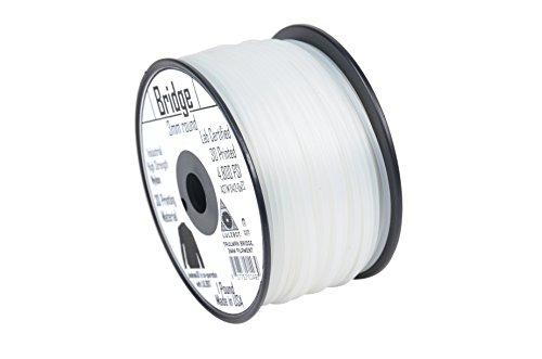 Aleph (objets Inc. Taulman Filament, pont en nylon, 3mm, 1bobine de grammage, Naturel