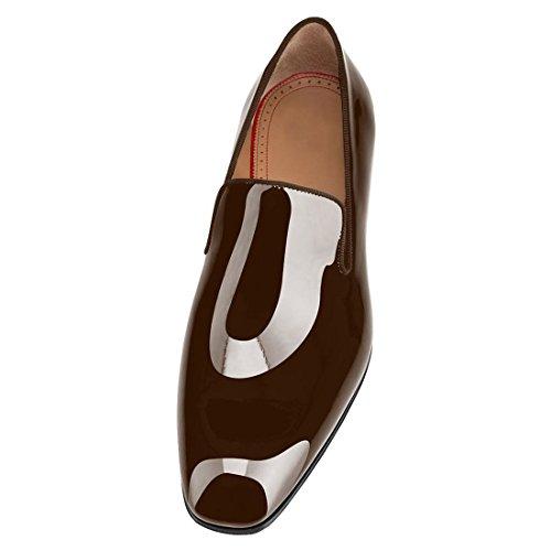 Mocassins En Cuir Cuckoo Oxford Chaussures Pour Hommes