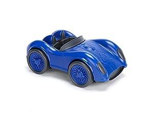 Green Toys- Auto de Carreras (Azul), (RACB-1479)
