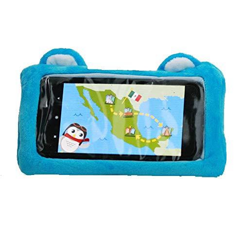 Universelle Plüsch-Schutzhülle für Kinder, passend für die meisten iPhone, iPod Touch und Samsung Geräte