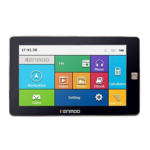 KENMOO 8GB DE 7PULGADAS TFT LCD DE PANTALLA TACTIL GPS COCHE NAVEGACION GPS PARA COCHE/CAMION MAPAS DE REINO UNIDO UE