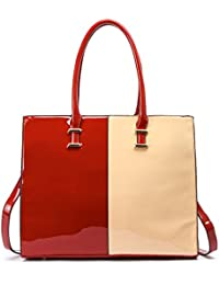 784c4c1f2291 LeahWard Faux Leather Large Size Women's Tote Bags College A4 Folder  Handbag Sale Clearance 319