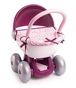 Smoby Baby Nurse - Cochecito de bebé, Color Rosa
