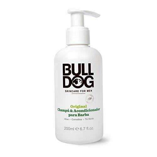 Bulldog Cuidado Facial para Hombres - Champú y Acondicionador Barba Original 2 en 1, 200 ml