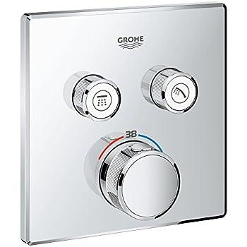 grohe grohtherm smartcontrol brause und duschsysteme thermostat mit 2 verbrauchern. Black Bedroom Furniture Sets. Home Design Ideas