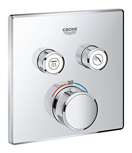 GRT SmartControl THM FMS eckig 2SC - Grohe Thermostat