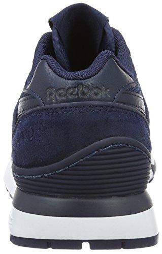 Reebok Gl 6000 Pt, Sneakers Basses Mixte Adulte Bleu (Collegiate Navy/White)