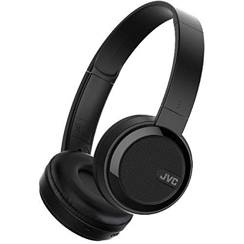 JVC HA-S40BT-E Casque sans Fil Bluetooth Pliable - Noir